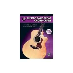 Alfred Publishing 00 28386 Alfreds Basic Guitar Chord