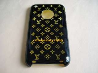 Black & Lt.green colour pattern hard case cover for iphone 3G 3GS