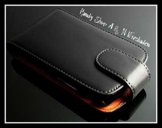 Blackberry Torch 9800 Leder Tasche Cover Case Hülle