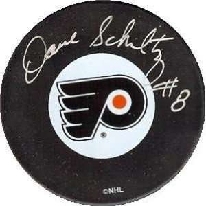 Dave Schultz Autographed/Hand Signed Hockey Puck (Philadelphia Flyers)