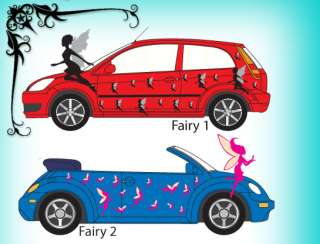 22 VINYL FAIRY CAR/VEHICLE DECALS/GRAPHICS/STICKERS NEW
