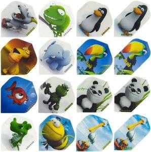 Sets of  Animal Life Dart Flights (12 animals)