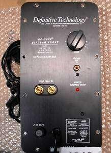 Definitive Technology BP2006TL 240V AMP PANEL   ADAD