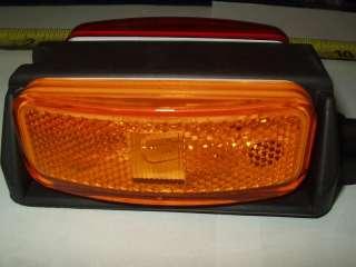 Red/Amber Optronics BA44 Fender Light Marker Trailer RV