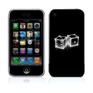 Crystal Dice Decorative Skin Cover Decal Sticker for Apple