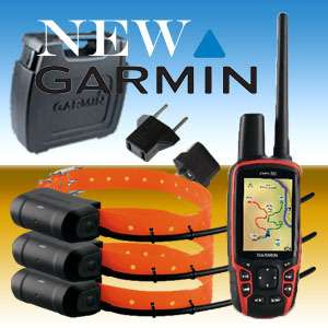 BRAND NEW GARMIN ASTRO 320 COMBO GPS + 3 x DOG TRACKING COLLARS DC40