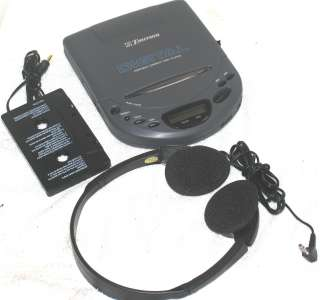EMERSON HD6825 Portable CD Player w/ CASSETTE ADAPTER