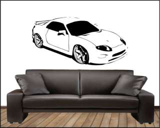 Mitsubishi FTO GPX Mivec Ralliart Style Vinyl Graphic Decal Sticker