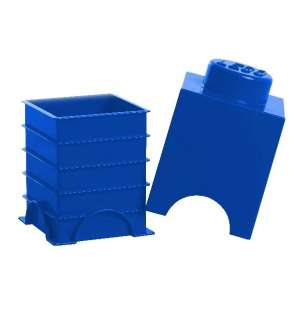 LEGO Storage Brick 1 Box Giant NEW Blue 5706773400119