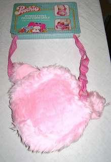 POOCHIE 80s Mattel technical peluche puppet bag   borsa tecnica