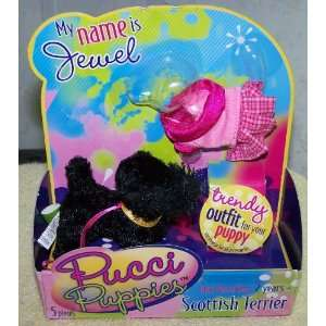 Pucci Puppies *Scottish Terrier* Jewel Toys & Games