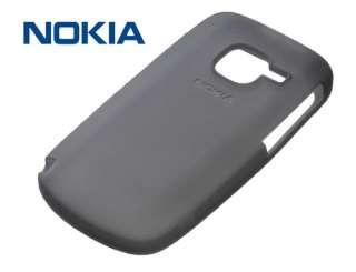 NEW ORIGINAL BLACK NOKIA C3 SILICONE SKIN CASE CC 1004