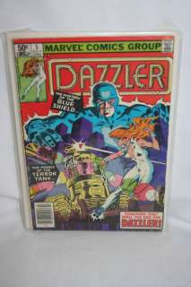 Marvel Comic, Dazzler #5 The Mystery Of The Blue Shield