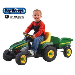 Peg Perego John Deere Farm Tractor & Trailer   Peg Pérego   3   4