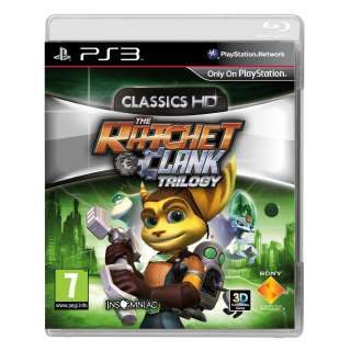 Ratchet and Clank Trilogy HD Sony Playstation 3 PS3 Game UK PAL