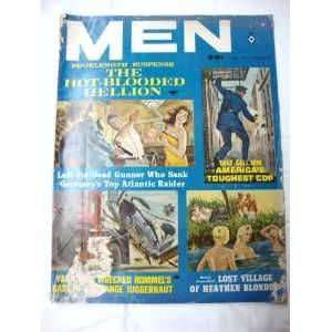 MEN Magazine September 1963 Zenith Publishing Corp. Books