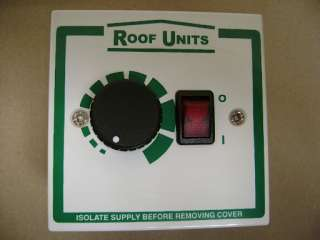 VENT AXIA ROOF UNITS SP5001 ELECTRONIC SPEED CONTROLLER