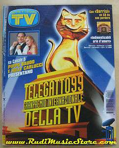 rivista TV SORRISI CANZONI n. 18 1999 TELEGATTO 99 luca barbarossa NO