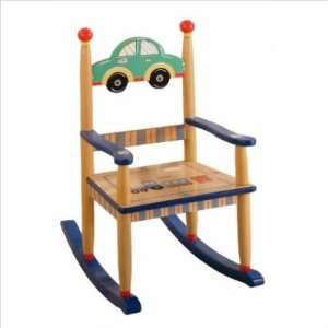 Teamson Wings & Wheels Rocker Hand Painted Home & Kitchen