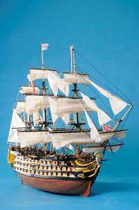 HMS Victory 44 Wooden Ship Model 1:98 Scale Sail boat!