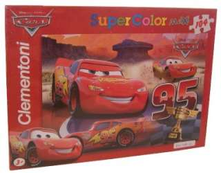 DISNEY CARS 104pc COLOR PUZZLE TOYS GAMES JIGSAW BOX