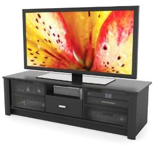 Sonax BX 6010 Bromley 60 Inch Midnight Black TV/Component