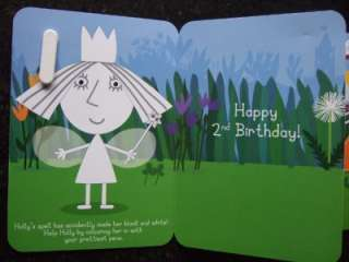BEN AND HOLLYS LITTLE KINGDOM AGE 2 3 4 Birthday Card