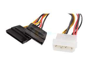 Newegg   Rosewill 8 Sata Power Splitter Cable Model RCW 302