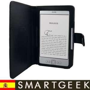 FUNDA CUERO  KINDLE 4 WIFI 3G NEGRO en ESPAÑA ebook
