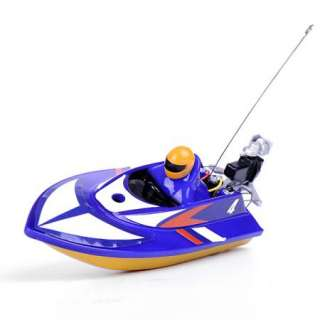 Radio Remote Control RC Mini Micro Racing Speed Boat