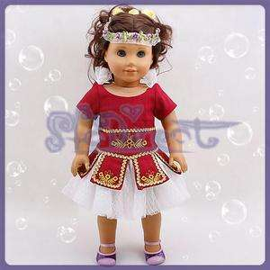 Noble Palace Princess Dress for American Girl Molly New