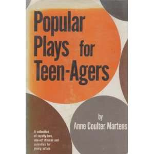 act Dramas and Comedies for Young Actors: Anne Coulter Martens: Books