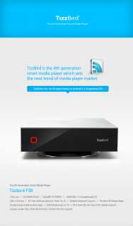 TizzBird F30 4th Generation Smart Network Media Player, Android 2.3 OS