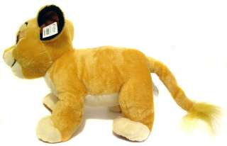 Disney The Lion King SIMBA Premium Plush Large Stuffed Doll Ultra Soft