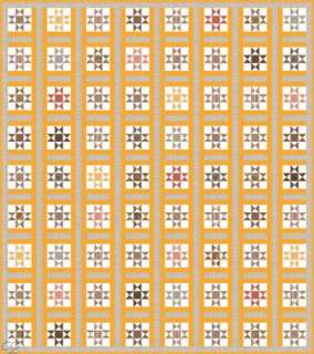 Moda Collections for a Cause Charity Civil War Quilt Kit Yellow Repro
