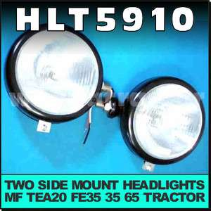 Headlight Head Lights Massey Ferguson MF 35 65 Tractor