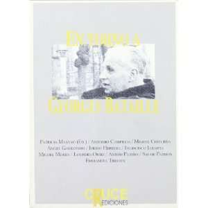 En torno a Georges Bataille (9788492160457): Books