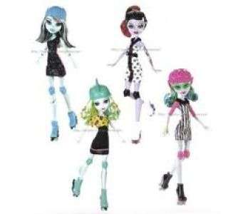 Monster High Roller Maze o Patines. Novedad 2012 (12120146)