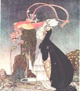 MATTED Vintage KAY NIELSEN Art DECO Nouveau Print PICTURE