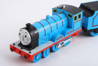 TOMY PLARAIL THOMAS FRIEND EDWARD WITH 2 TRUCKS