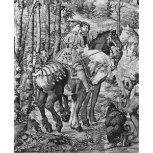 The Hunts of Maximilian, Leo, The Stag Hunt,..   Art Print