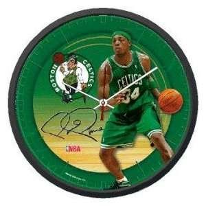 Boston Celtics Paul Pierce NBA Wall Clock: Sports