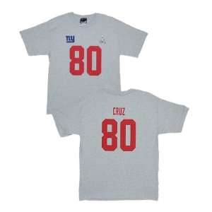 New York Giants Victor Cruz YOUTH Super Bowl Name and Number Jersey T