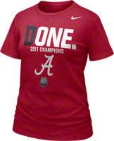 Alabama Crimson Tide Womens Tops, Alabama Crimson Tide Womens T Shirts