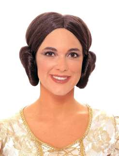 Princess Leia Costume Wig   Authentic Star Wars Costume Accessories