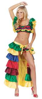 Sexy Cha Cha Girl Costume   Spanish or Mexican Costumes