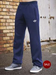 adidas Originals Mens Fleece Tracksuit Bottoms Very.co.uk