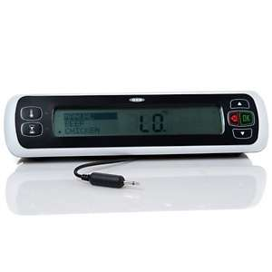 OXO Good Grips Digital Leave In Meat Thermometer with 24 Hour Timer at