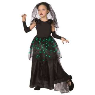Halloween Costumes Gothic Bride Light Up Tween Costume