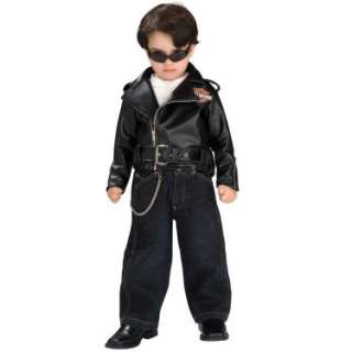 Harley Davidson Black Jacket Infant/Toddler   Costumes, 33223